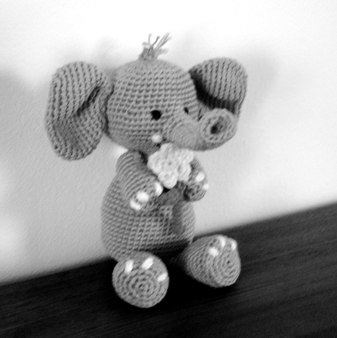 Ella The Elephant Free Crochet Pattern : Ella the Elephant AmigurumiBBs Blog