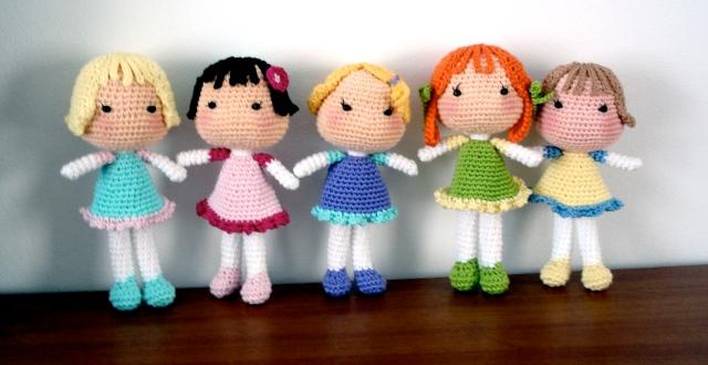 Making Hair Amigurumi Dolls : BB Dolls AmigurumiBBs Blog