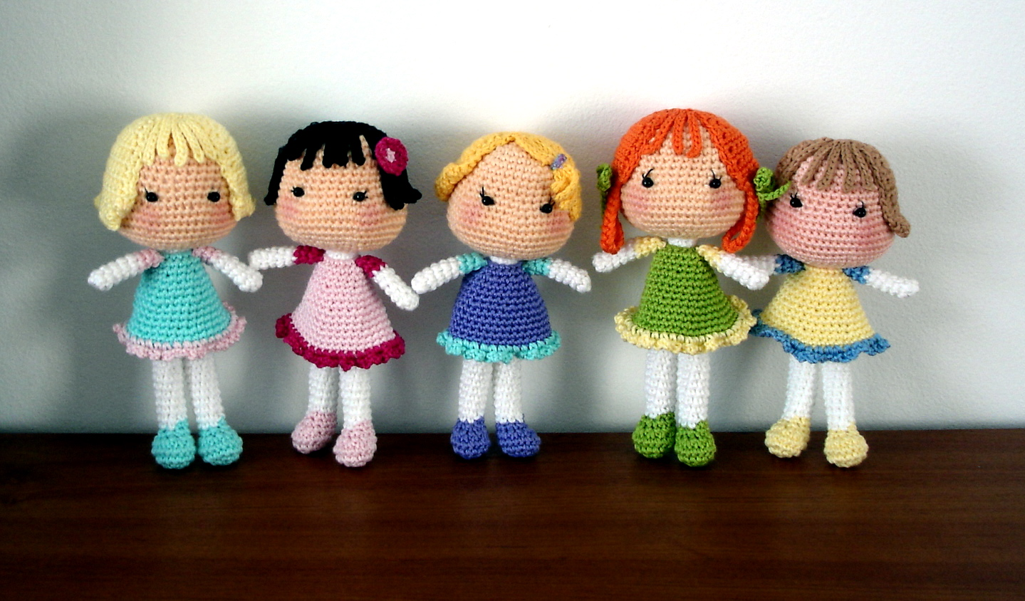 Amigurumi Doll Tutorial For Beginners : Amigurumi G