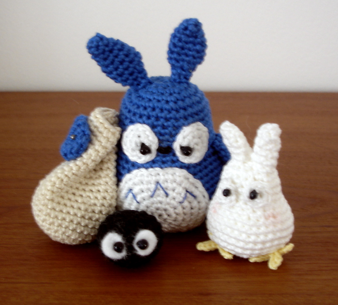 Free Amigurumi Wedding Couple Pattern : Totoro - 09
