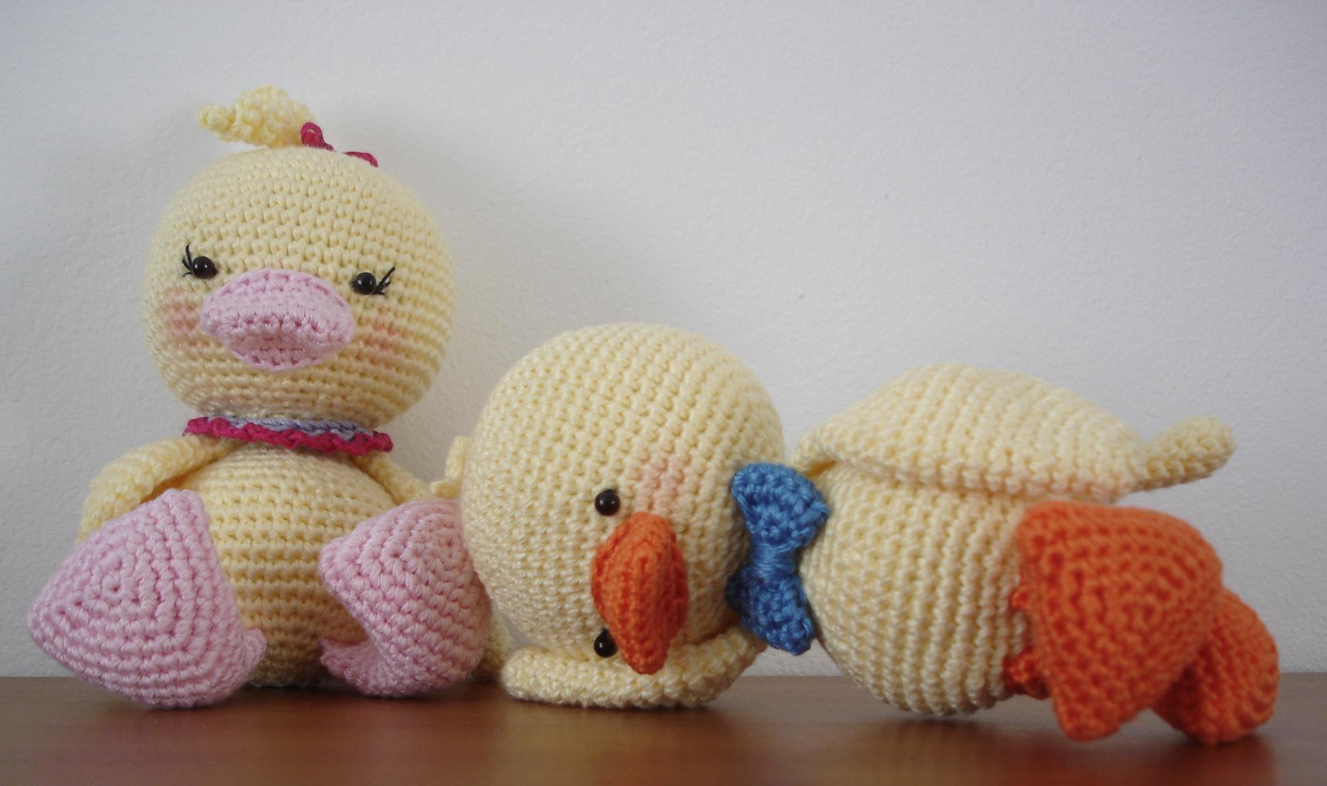 Amigurumi Duck Pattern Free : Quack? Quack, quack! AmigurumiBBs Blog
