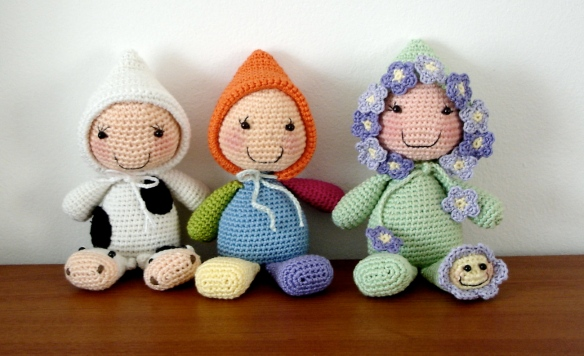 Rice stuffed dolls - 08
