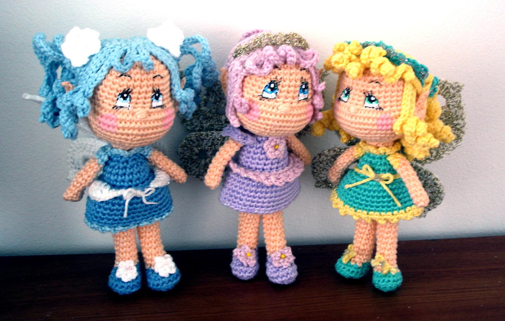 Free Amigurumi Fairy Pattern : Fairy Doll AmigurumiBBs Blog