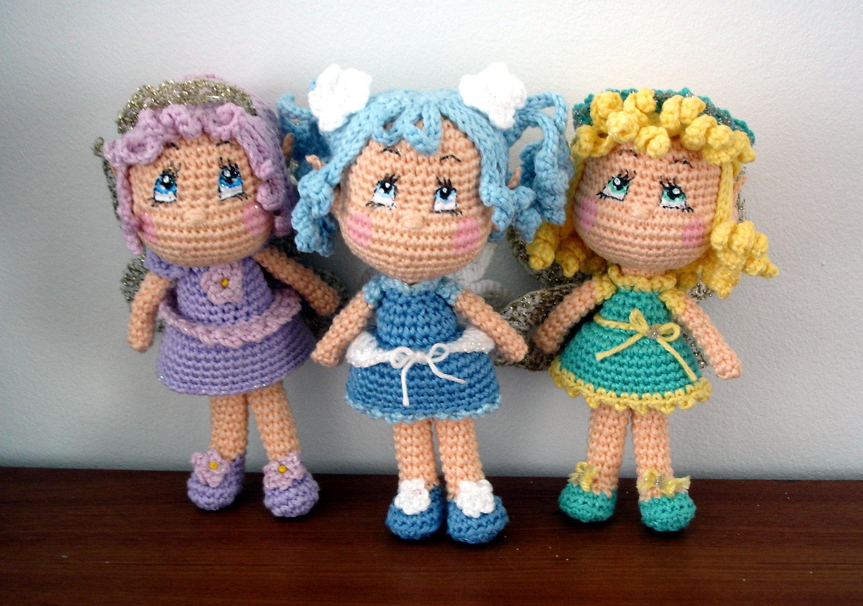 Free Amigurumi Fairy Pattern : Fairy Dolls AmigurumiBBs Blog