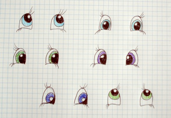 Few eye designs