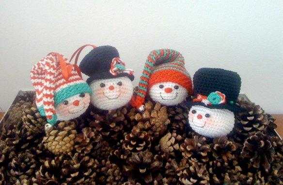 free crochet christmas ornaments AmigurumiBBs Blog