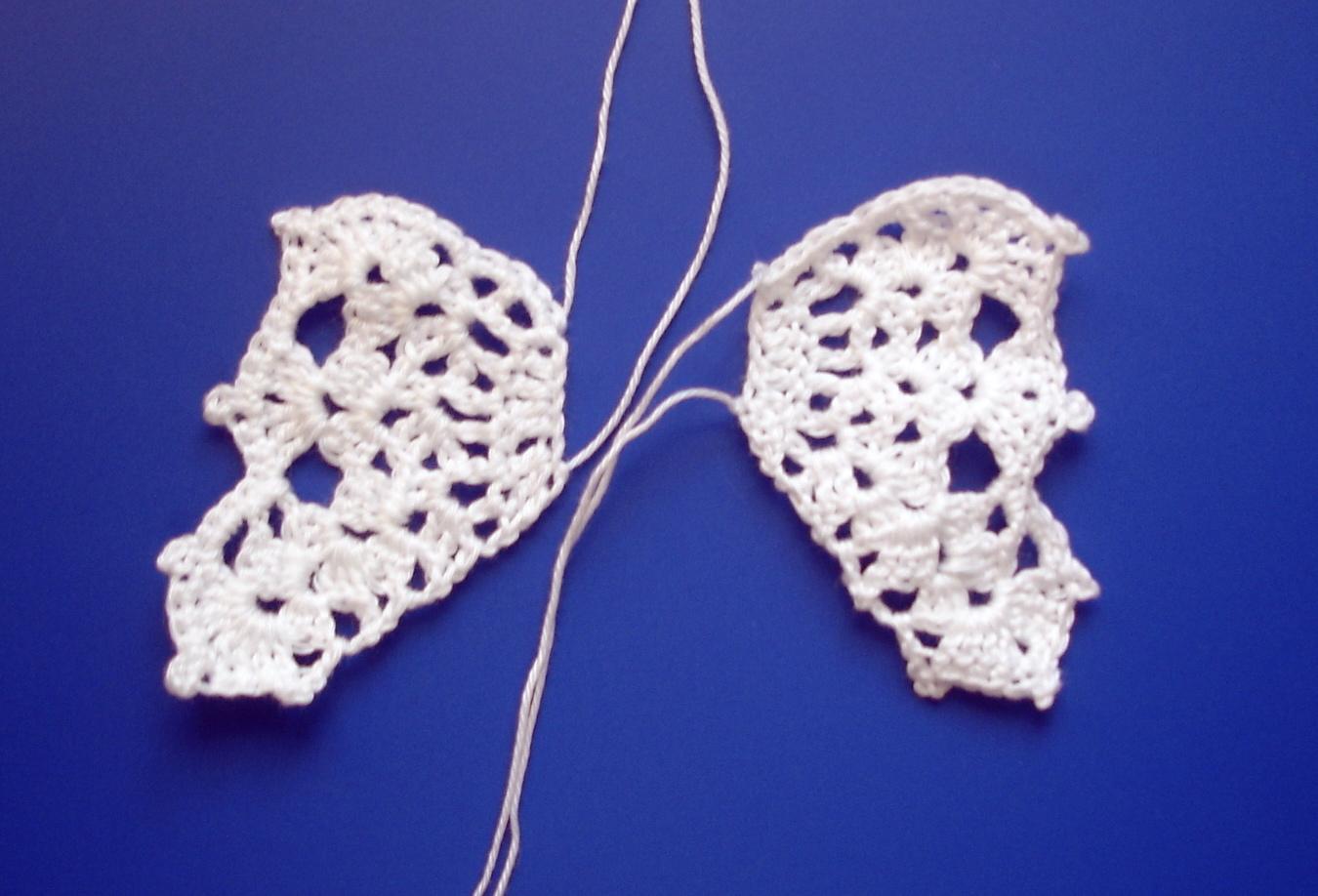 Knitting Pattern For Angel Wings : free angel crochet AmigurumiBBs Blog