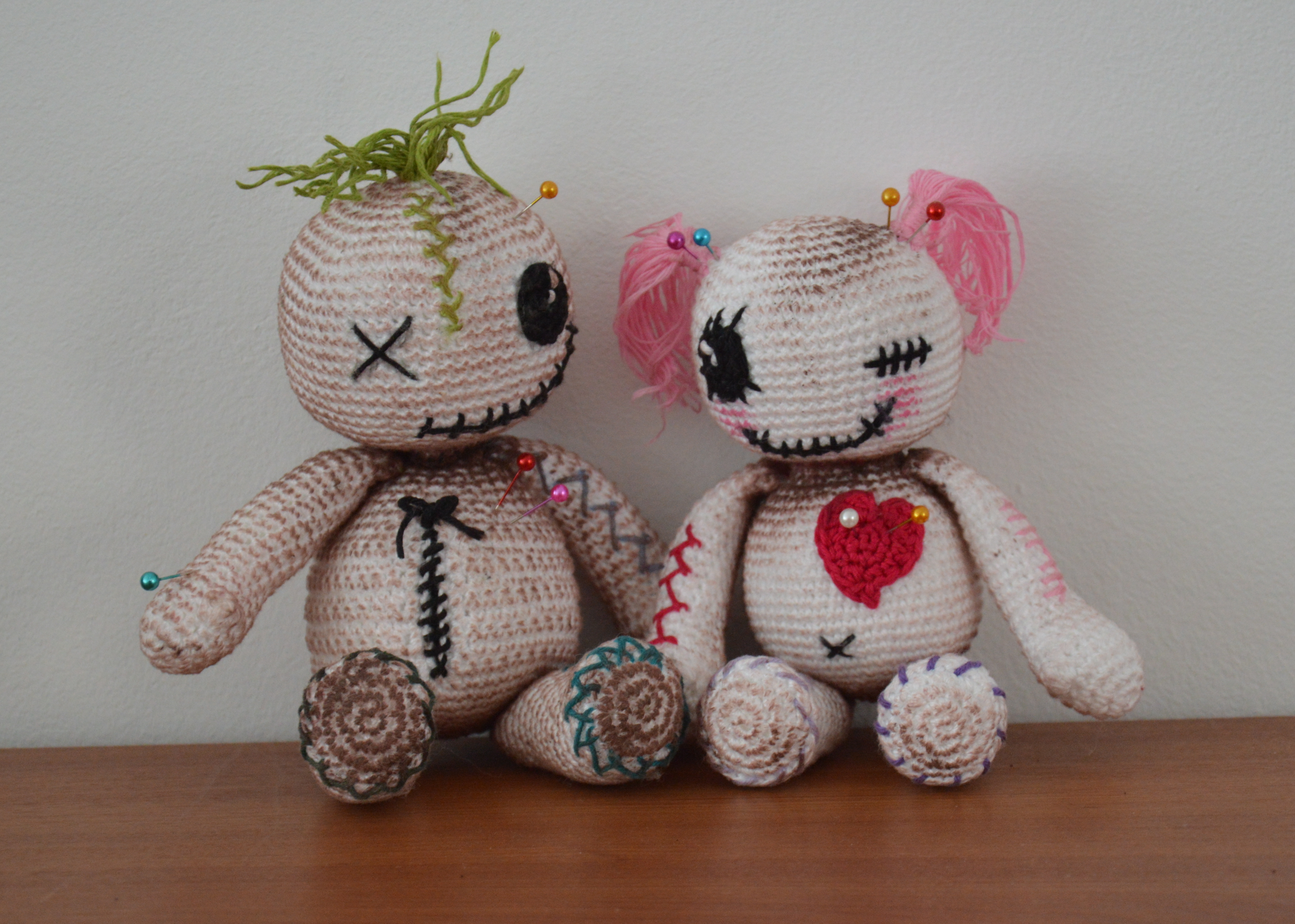 Knitting Pattern Voodoo Doll : Voodoo anyone? AmigurumiBBs Blog