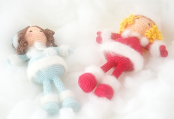 Winter Dolls - AmigurumiBB