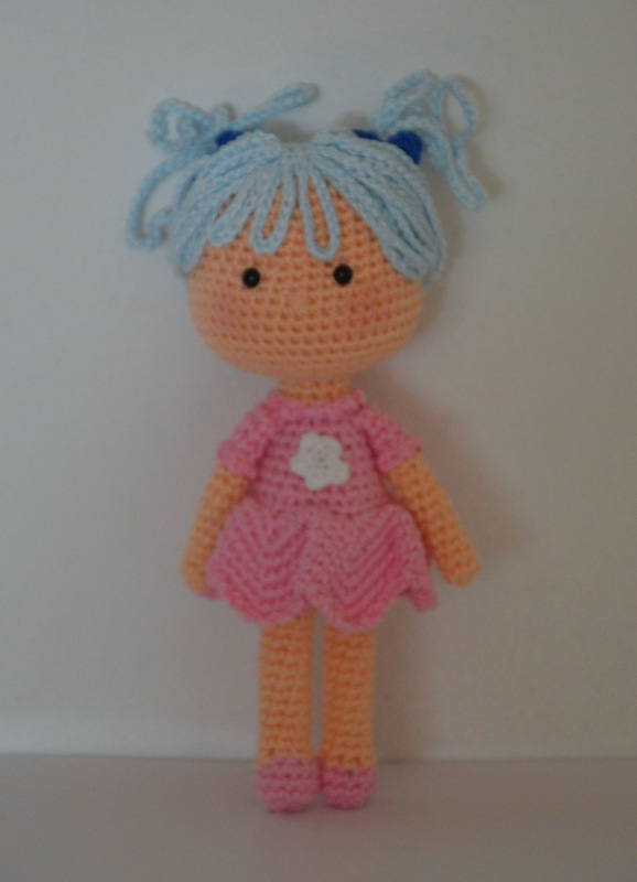 How to make simple doll Amigurumi ? Pinterest ...