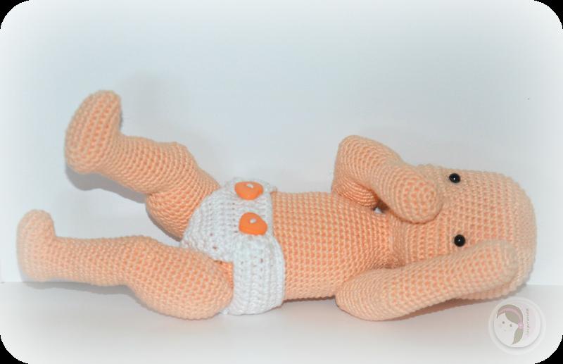 Crochet Pattern Baby Doll : Waldorf Inspired Baby Doll AmigurumiBBs Blog