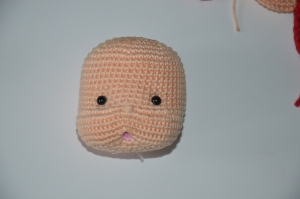 Waldorf Inspired Baby with open mouth