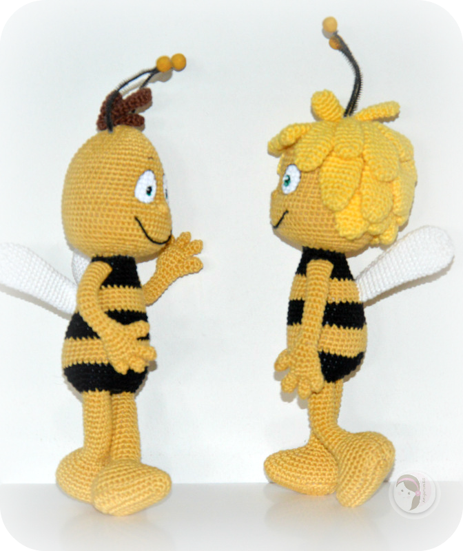 Amigurumi Basic Doll Pattern : Maya the Bee AmigurumiBBs Blog