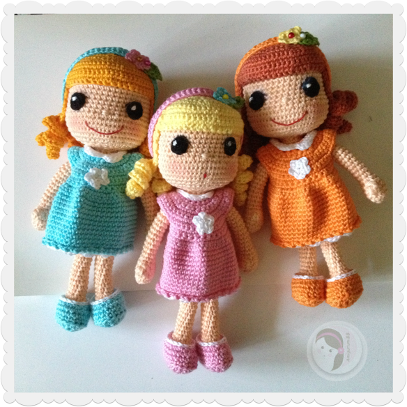 Basic Crochet Doll Pattern Free : crochet doll pattern AmigurumiBBs Blog