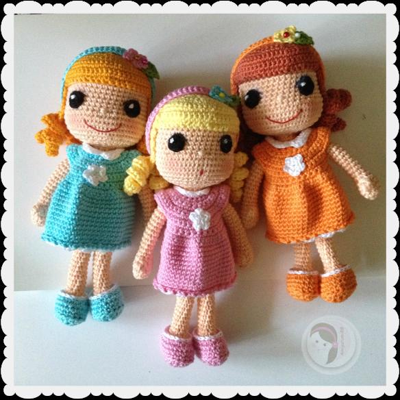 crochet doll pattern AmigurumiBBs Blog